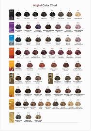 L Oreal Professional Majirel Hair Color Chart Lajoshrich Com