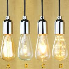 in pendant lighting high quality socket bulbs retro pendant lamp fixture with wire without switch sliver industrial pendant lamp pendant