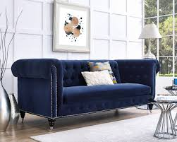 blue velvet chesterfield sofa. Wonderful Chesterfield Awesome Navy Blue Velvet Chesterfield Sofa 93 For Your Modern Ideas  With Throughout D