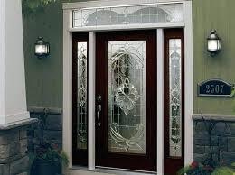 decorative glass doors interior