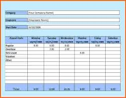 Image Excel Hourly Timesheet Payroll Template Agreenishlife Co