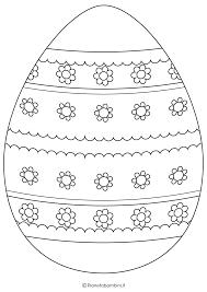 Uova Da Colorare Di Pasqua Disegno