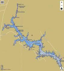 Lake Wateree Fishing Map Us_aa_sc_lake_wateree_sc