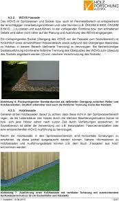 Richtlinie Sockelanschluss Im Holzhausbau Pdf