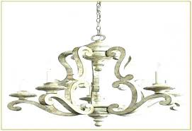 distressed wood chandelier french country brighton 5 light candle style chandelier