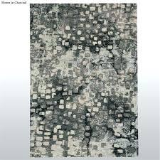 charcoal grey rug area brick road rectangle rugs dark runner