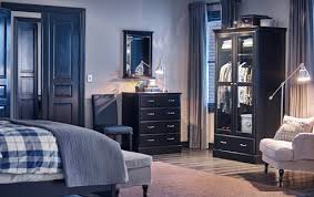 ikea mirrored furniture. a bedroom with black chest of 4 drawers mirror and wardrobe tempered ikea mirrored furniture
