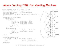 Vending Machine Reset Code Fascinating Sequential Logic Review Ppt Video Online Download
