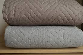 Chevron | Stitched and Quilted Bedspreads | Natural Bed Company &  Adamdwight.com