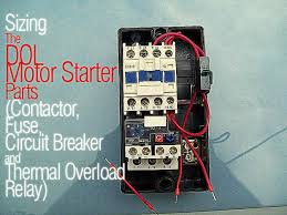 contactor and overload wiring diagram contactor sizing the dol motor starter parts contactor fuse circuit on contactor and overload wiring diagram