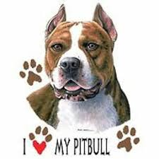 Pit Bull Love T Shirt Pick Your Size 7 X Large To 14x Large Ebay