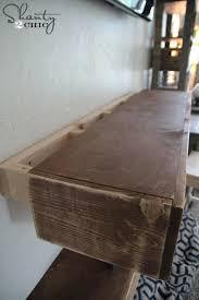 diy mantel shelf mantel shelf fireplaces