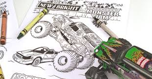 monster jam coloring pages. Contemporary Monster New Bright Monster Jam Coloring Pages And O