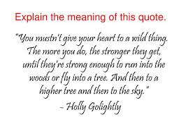 PPT Explain The Meaning Of This Quote PowerPoint Presentation Adorable Meaning Of Quote
