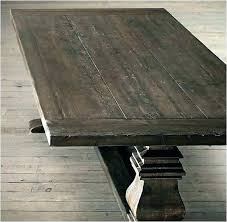 round trestle dining table salvaged wood trestle dining table restoration hardware salvaged wood trestle round dining