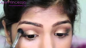 stani indian bridal makeup gold eye makeup for wedding superprincessjo