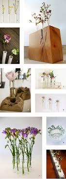 All photos via their respective owners: 1  Hanging test tube vase by  Pigeon Toe Ceramics / 2  Wall mount test tube vase by Pigeon Toe Ceramics  / 3 ...