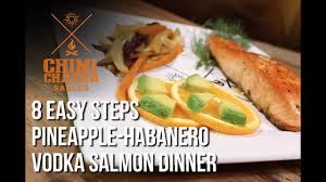 Pineapple Habanero Salmon Vodka Recipe ...