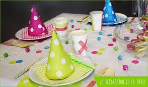 Décoration de table d'enfant - Des idées de décoration de table pour ...