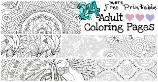 Small Picture 24 More Free Printable Adult Coloring Pages Nerdy Mamma