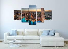 custom canvas prints set wall decor canvas painting canvas art dubai uae buildings