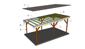 This step by step diy woodworking project is about how to build a flat roof  carport. Learn how to make a carport with a flat roof out of wood.