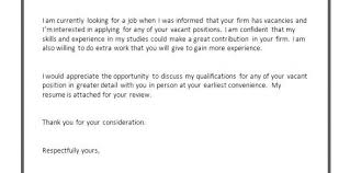 Job Application Resume Cover Letter Example Of Resume Cover Letter For Job Image Result For