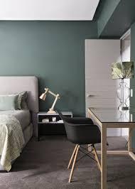 Grün Schlafzimmer Idee Tolle Ideen Dunklen Vorhänge Die Wände