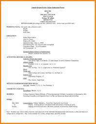 Resume Cv 4 H Resume Examples 4 H Resume Examples Fresh 5 Examples