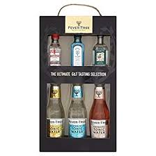 fever tree 3 gins and 3 tonics gift set