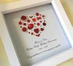 best anniversary gift ideas images on wedding gifts for husband 40th canada