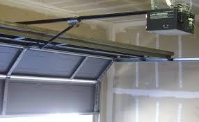image of direct drive garage door opener system