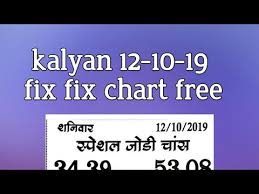 Prabhat Guessing Chart Kalyan 12 10 19 Fix Chart Free Free