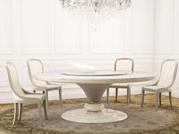 round marble table with lazy susan caractere round table by turri