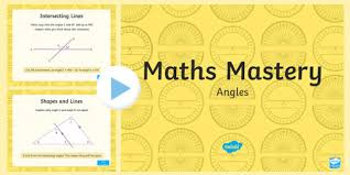 Lines Of Symmetry Powerpoint Year 6 Geometry Shape Angles Maths Mastery Activities Powerpoint