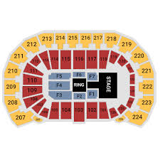 Intrust Bank Arena Seating Chart For Wwe Intrust Bank Arena Wichita Tickets Schedule Seating