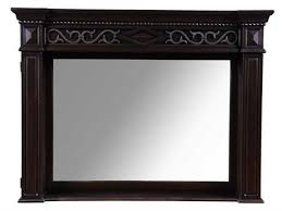 marbella furniture collection. art furniture marbella noir 58 x 44 landscape mirror collection
