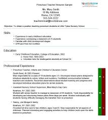 spectacular design daycare teacher resume 11 teacher resume with regard to  day care teacher resume -