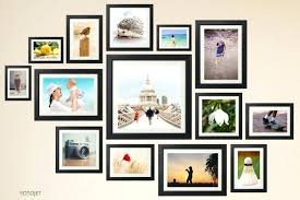 interesting wall 33 excellent wall photo collage collages pictures of com ideas without frames layout template frame inside l