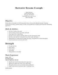 Bartender Resume Objective Best Of Bartender Resume Cover Letter Administrativelawjudge