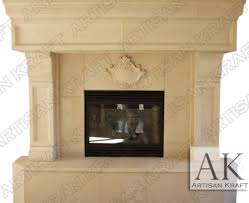 tucson cast stone fireplace