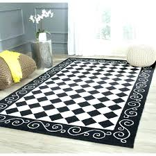 excellent black and white check rug tapinfluenceco inside black and white checd area rug popular