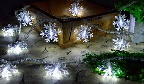 10M 100 Snowflake String Lights Led Strip Waterproof Christmas Outdoor Ac For Holiday Party Garden