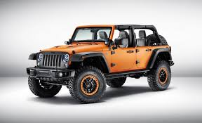 jeep wrangler sunriser concept is aciously orange news car and driver