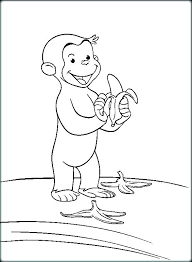 Curious George Coloring Books Curious George Coloring Sheet Curious