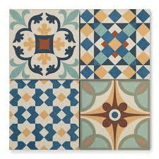 Moroccan Style Kitchen Tiles Patterned Vintage Tiles Porcelain Superstore