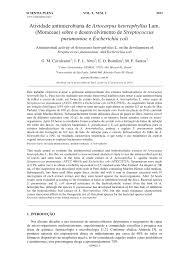 antibioticos artigos cientificos