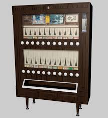 Vintage Cigarette Vending Machine For Sale