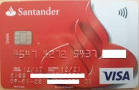 Most santander cards currently offer. Bank Card Santander Debit Santander United Kingdom Of Great Britain Northern Ireland Col Gb Vi 0015 06