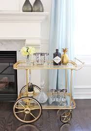 Styling Bar Cart For Your Party Ideas
